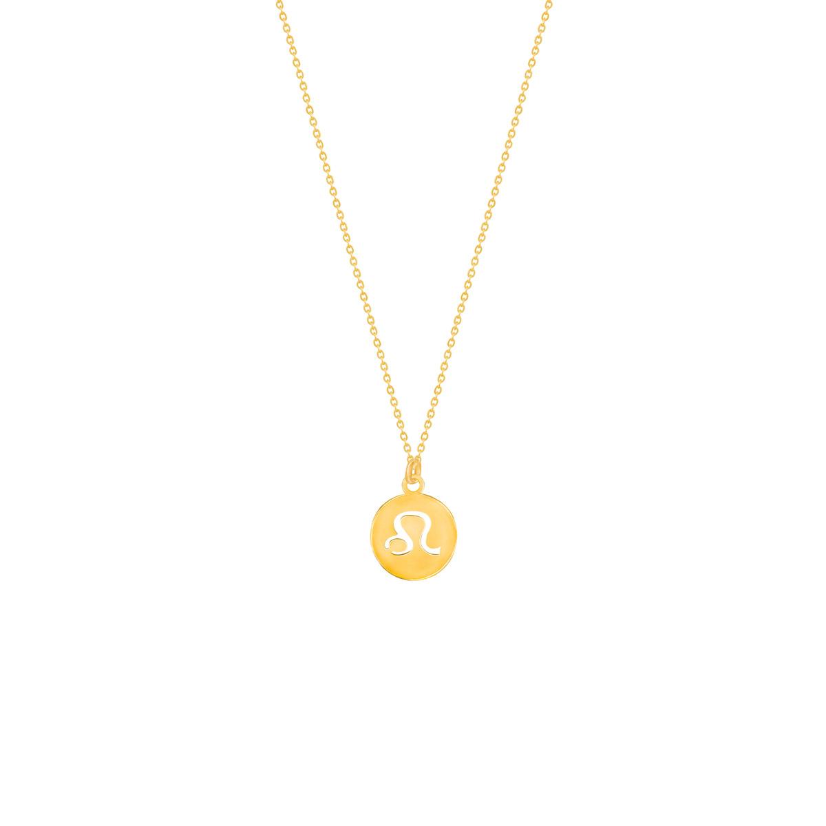 گردنبند طلا نماد ماه مرداد