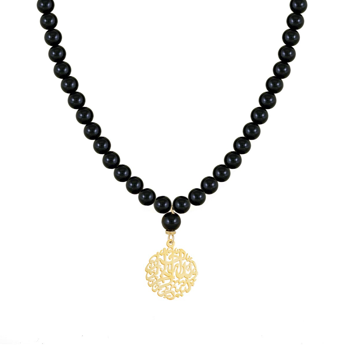 گردنبند طلا بسم الله کوچک