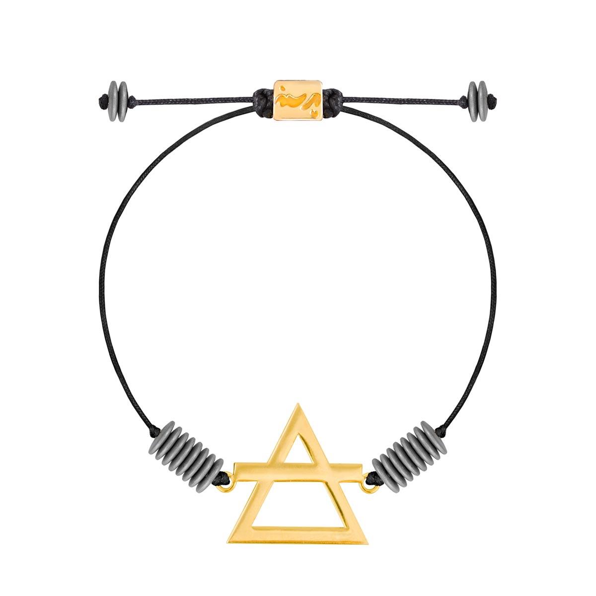 دستبند طلا عنصر باد
