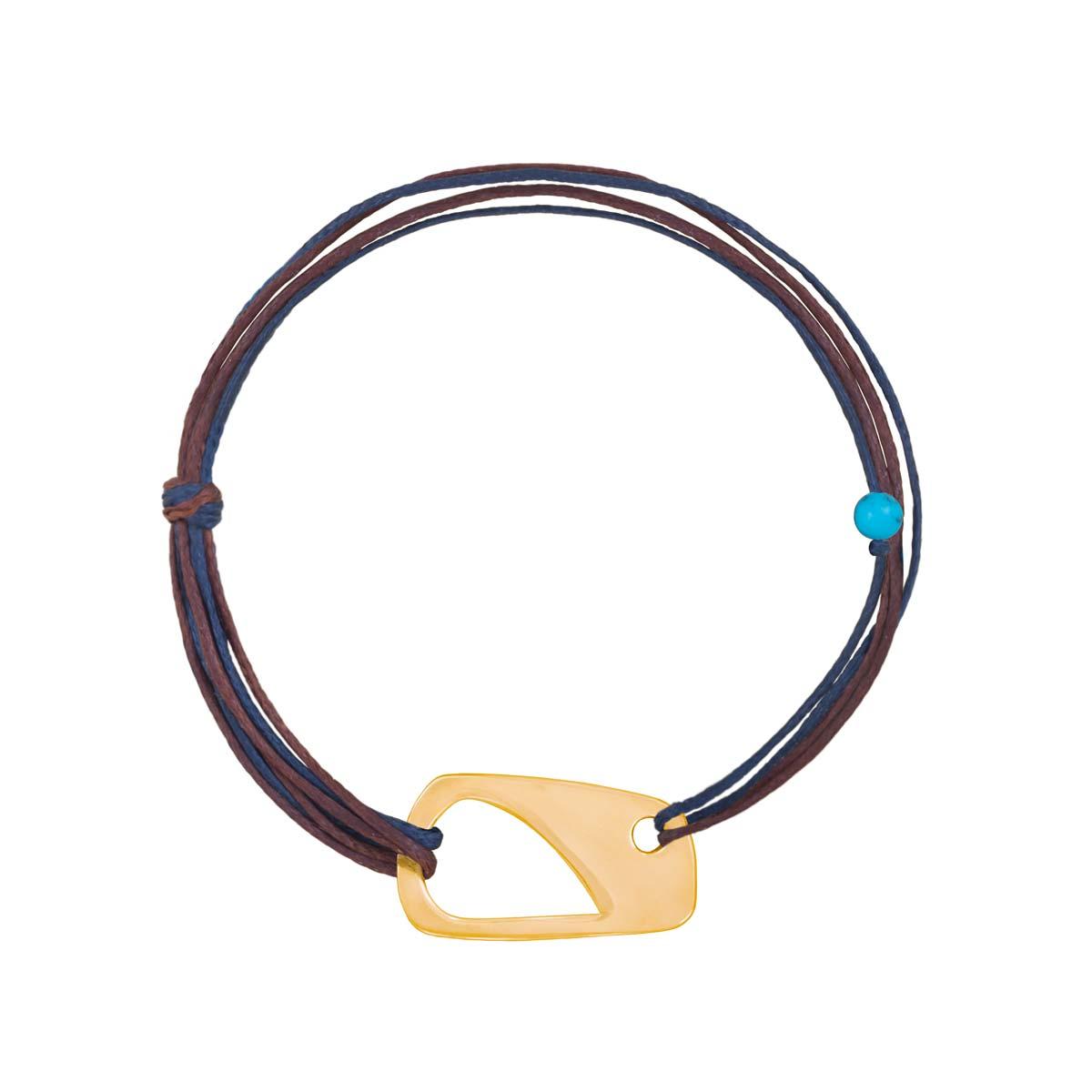 دستبند طلا بافت Shape-1 پرسته
