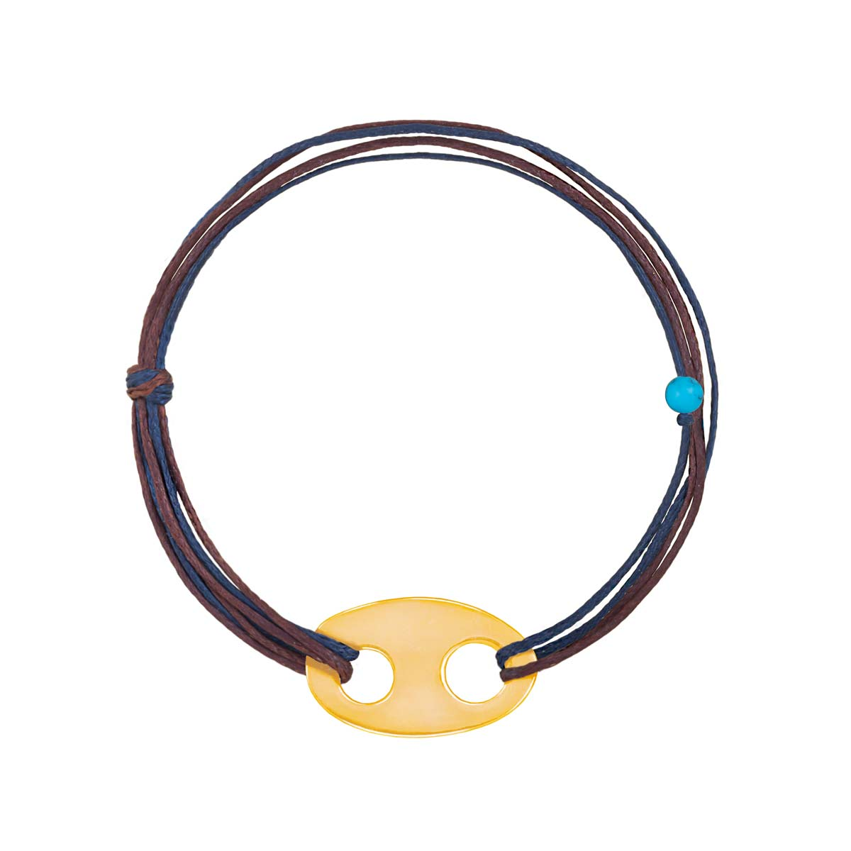 دستبند طلا بافت Shape-4