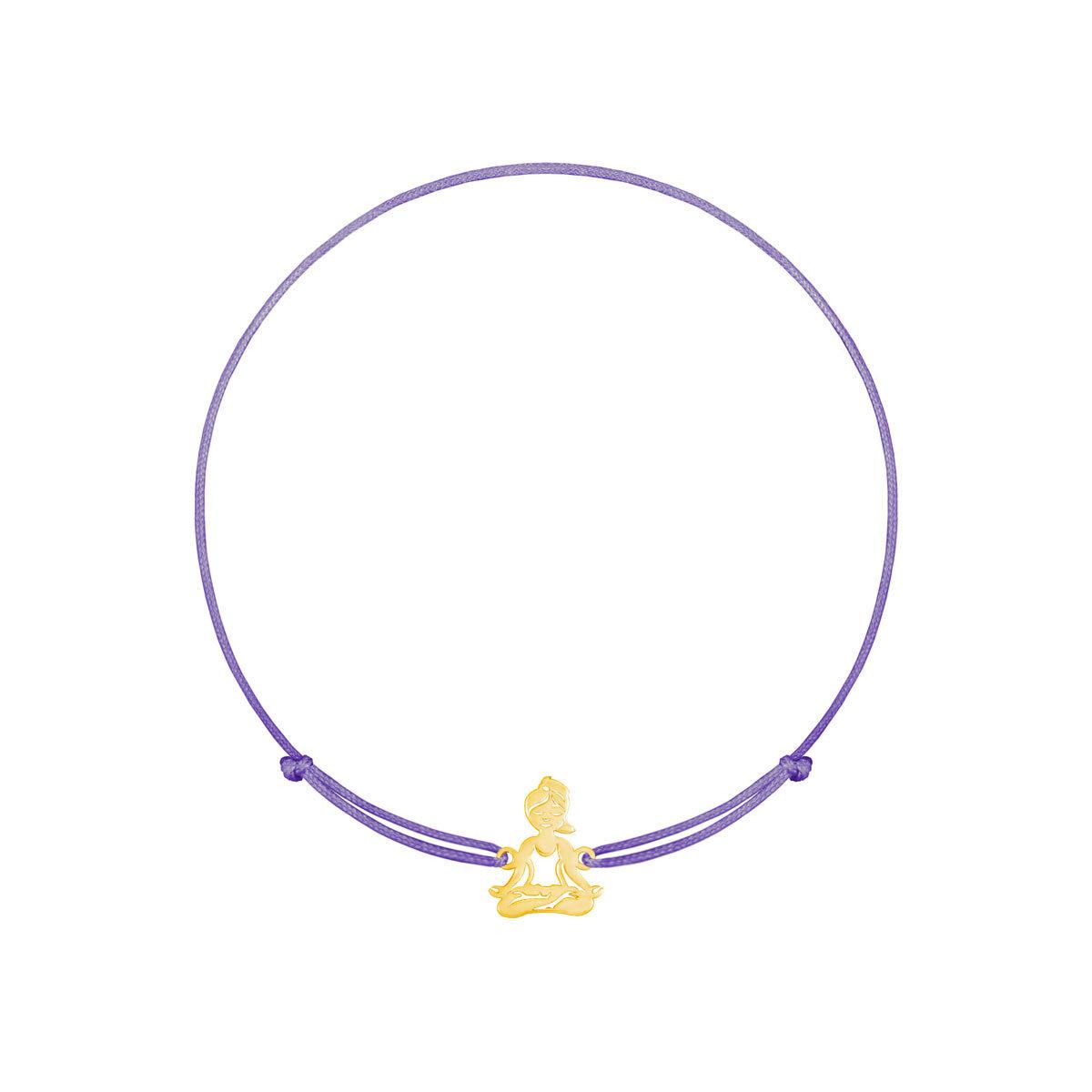 دستبند طلا بافت Yoga