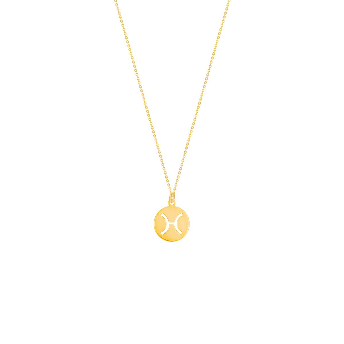 گردنبند طلا نماد ماه اسفند