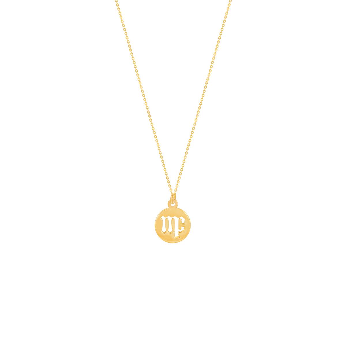 گردنبند طلا نماد ماه شهریور