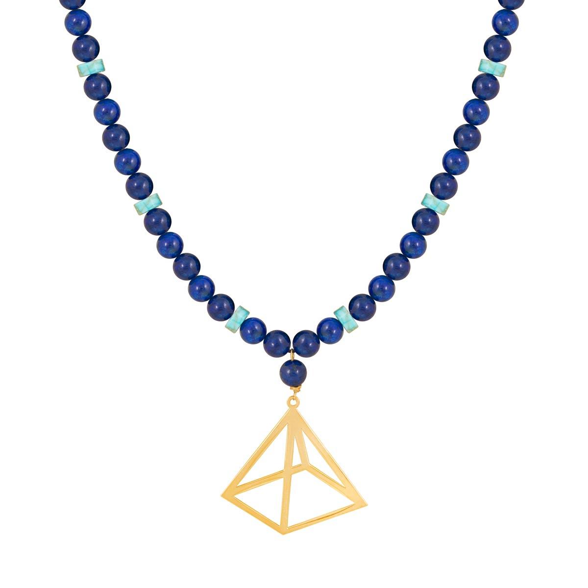 گردنبند طلا Pyramid