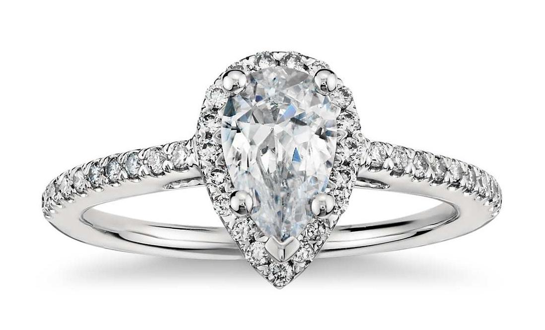 الماس گلابی شکل