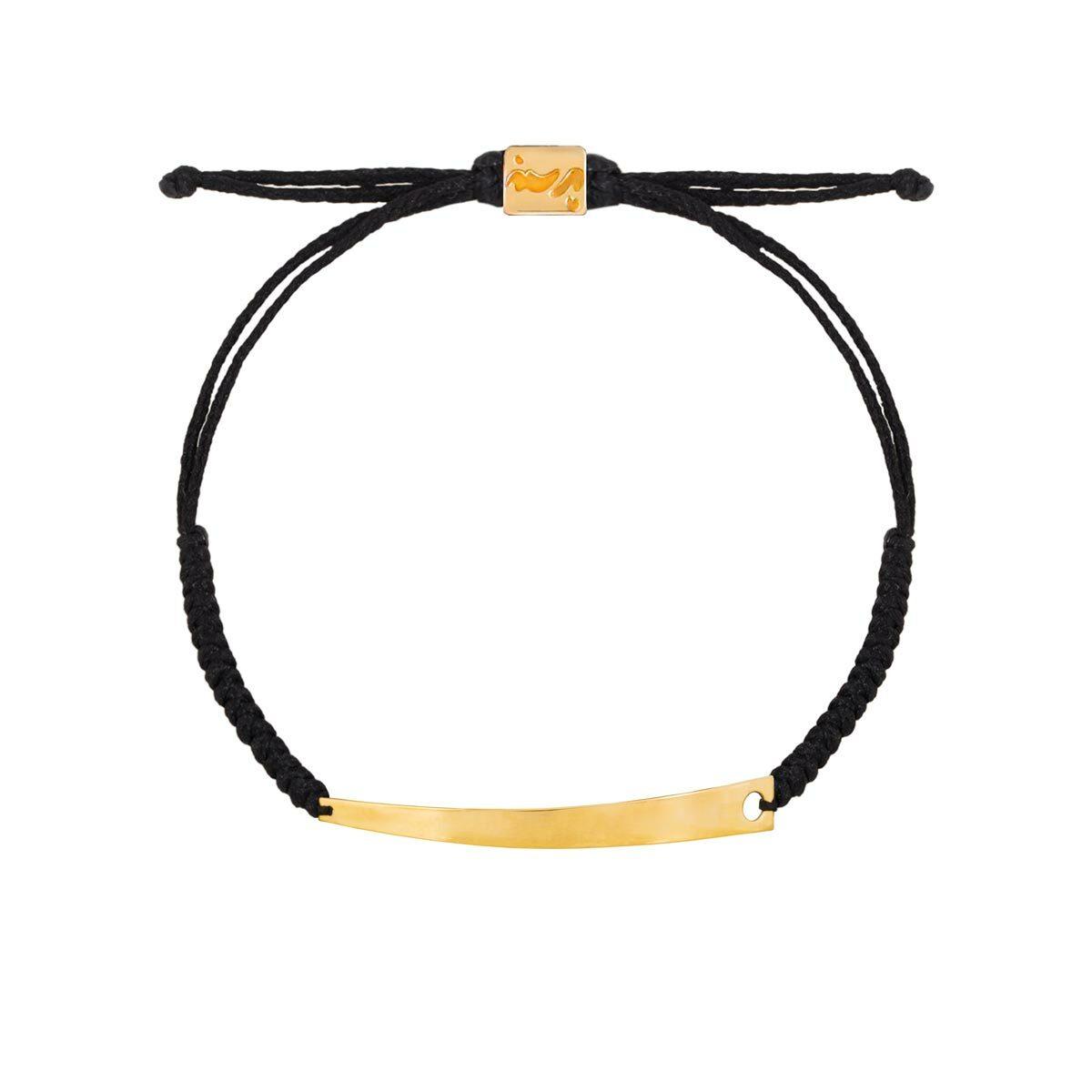 دستبند طلا بافت پلیت