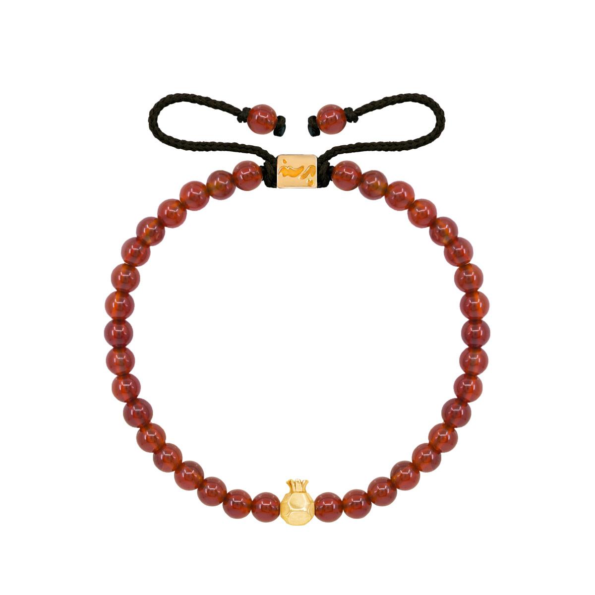 دستبند طلا انار کوچک
