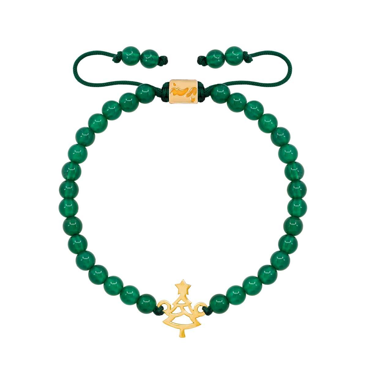 دستبند طلا کاج