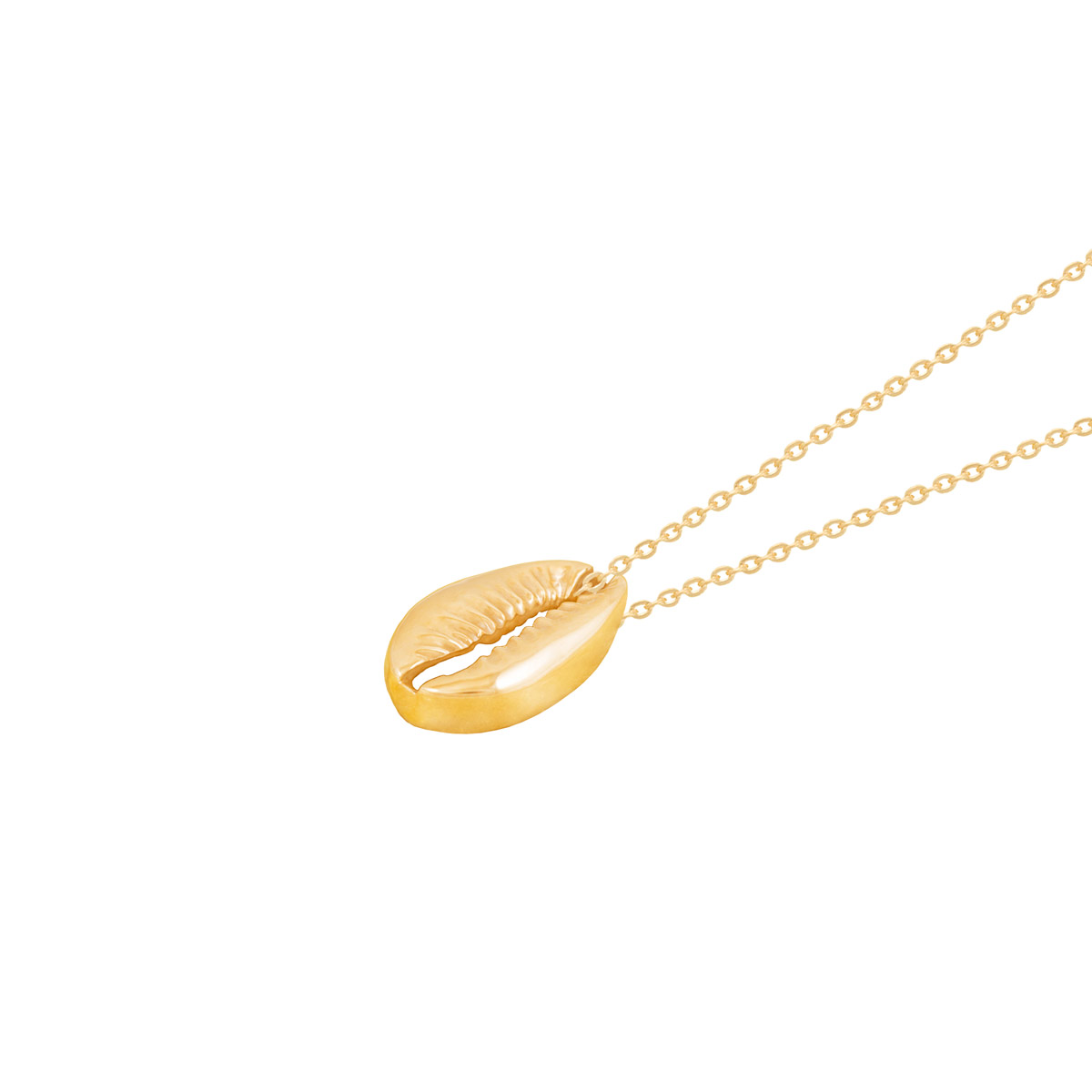 گردنبند طلا صدف