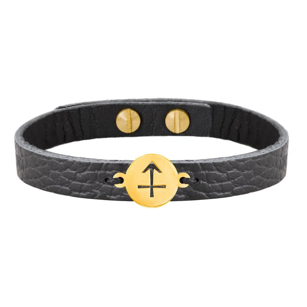 دستبند طلا نماد ماه آذر