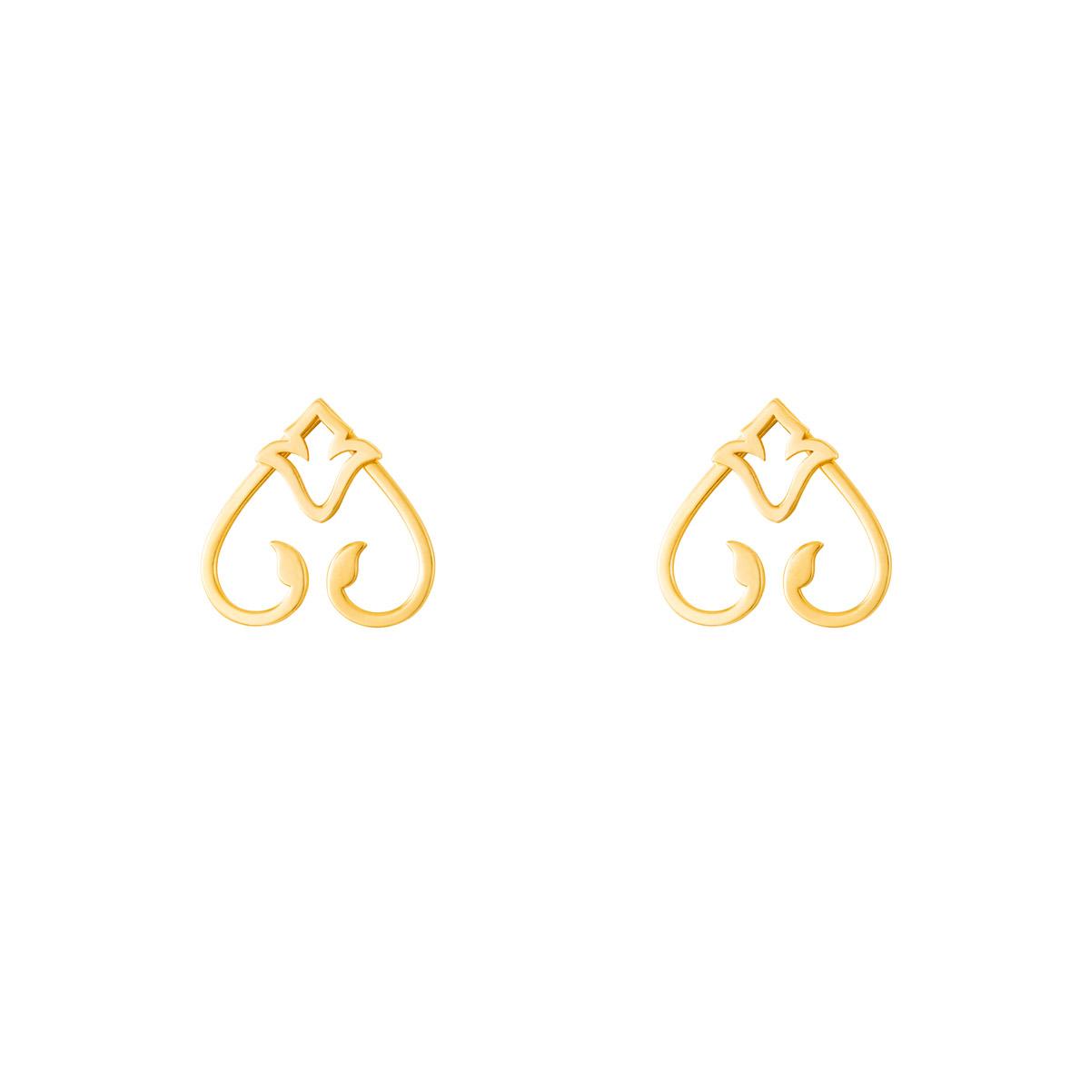 گوشواره طلا آشا|parasteh