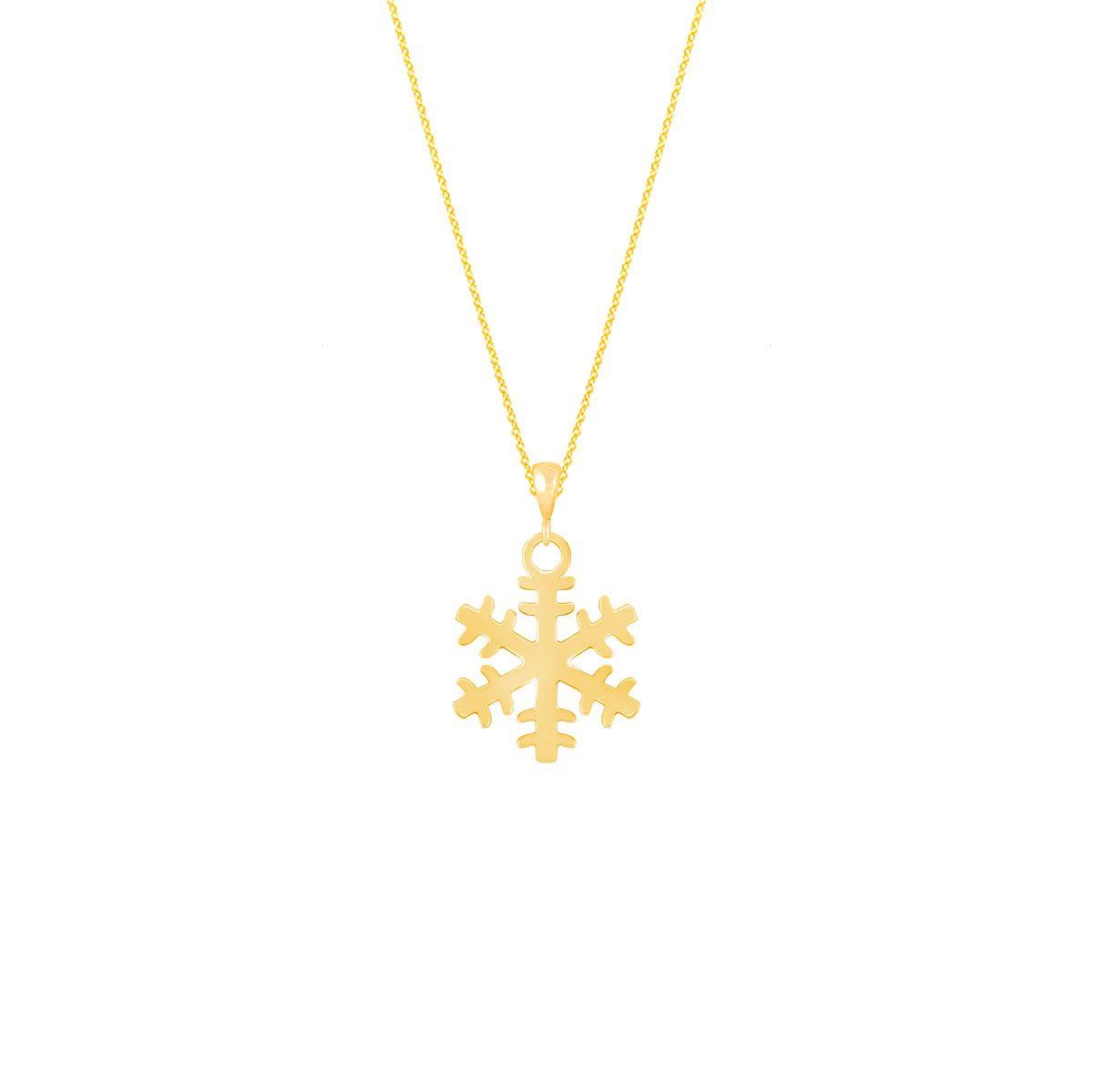 گردنبند طلا برف |parasteh