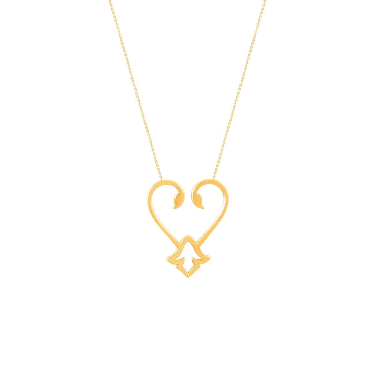 گردنبند طلا آشا |parasteh