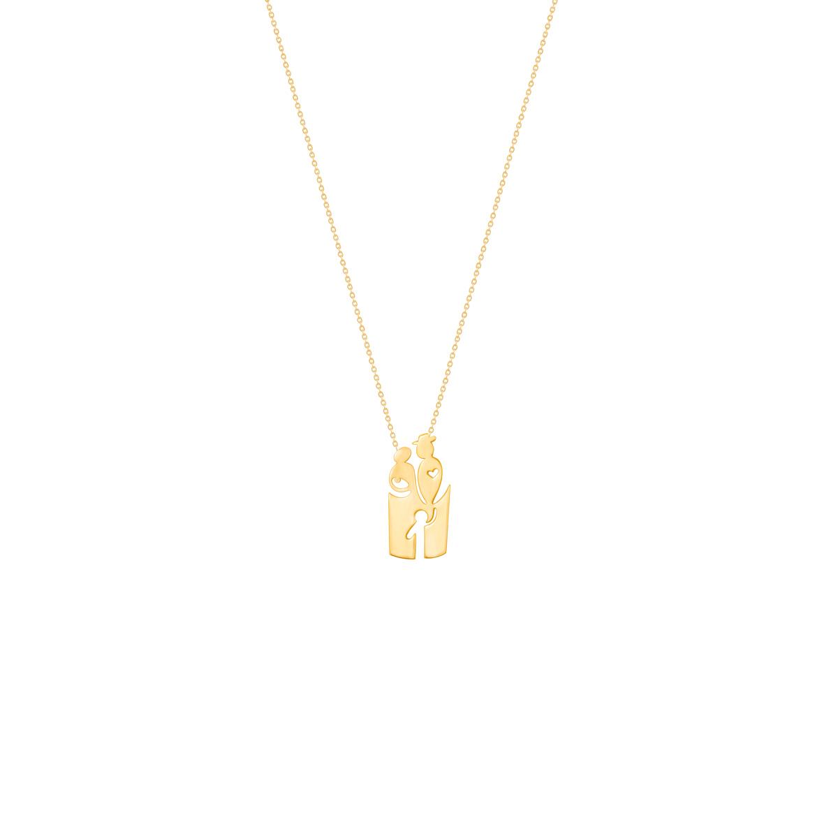 گردنبند طلا خانواده|parasteh