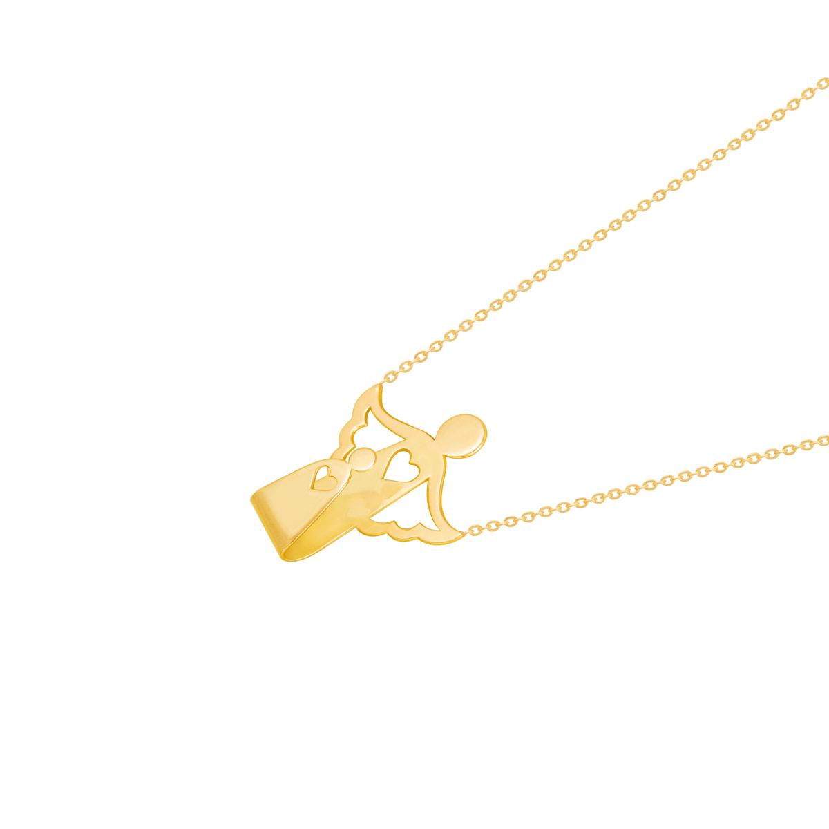 گردنبند طلا فرشته مادر
