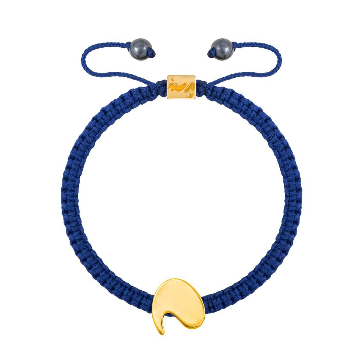 دستبند طلا حرف دال |parasteh