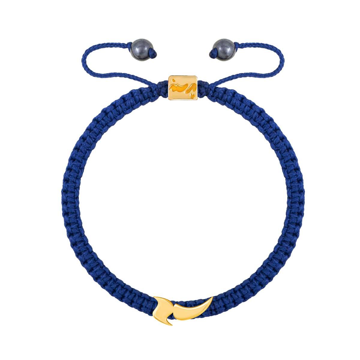 دستبند طلا حرف آ |parasteh