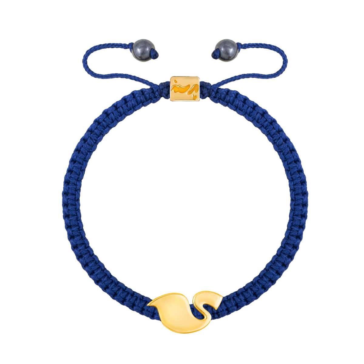 دستبند طلا حرف ی | parasteh