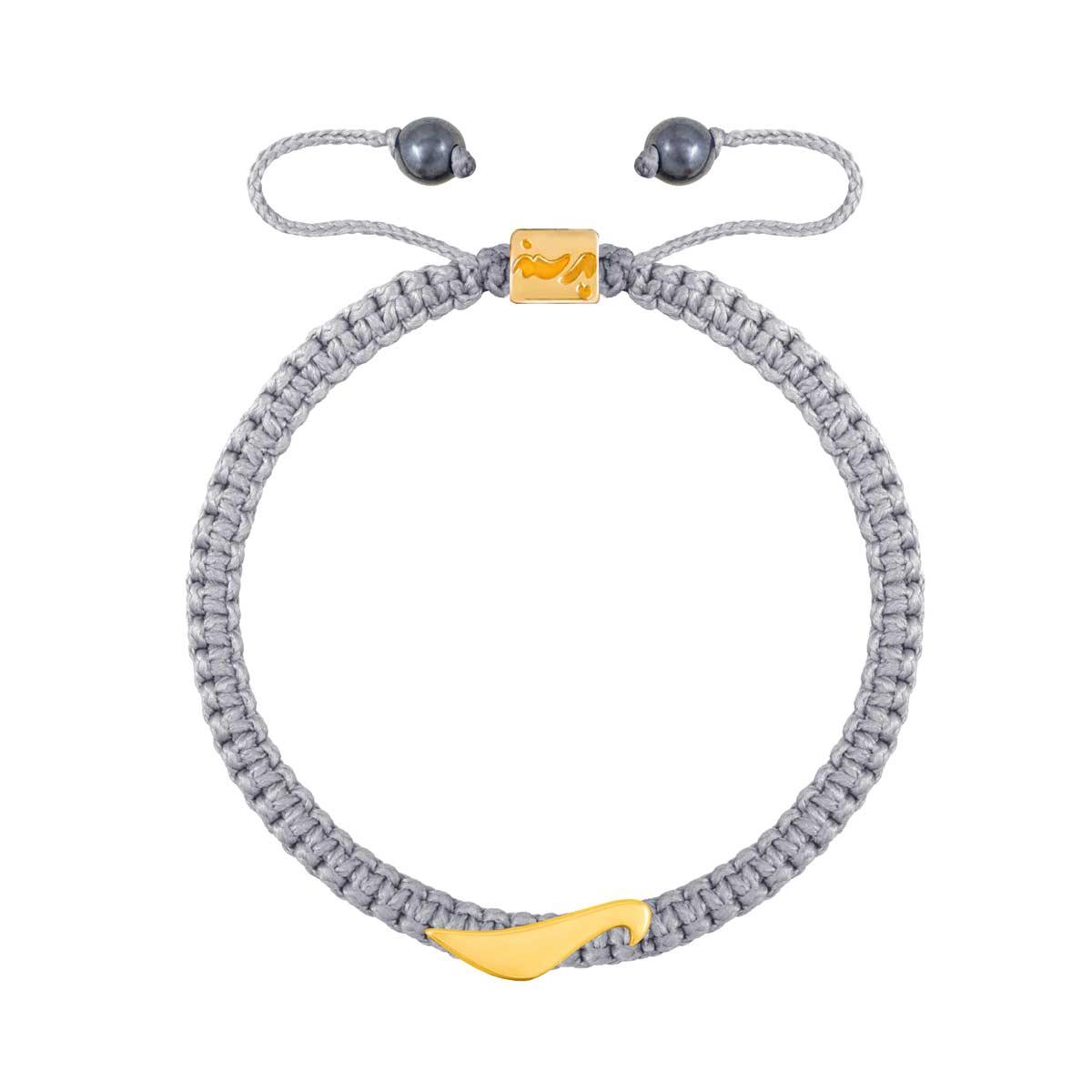 دستبند طلا حرف ر |parasteh