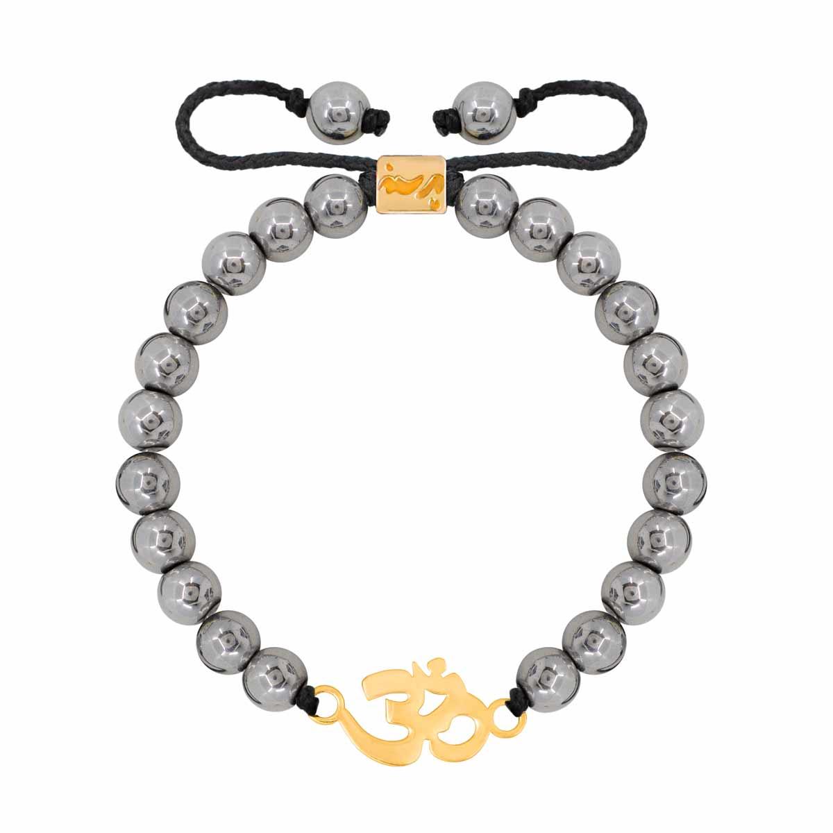 دستبند طلا اُم |parasteh