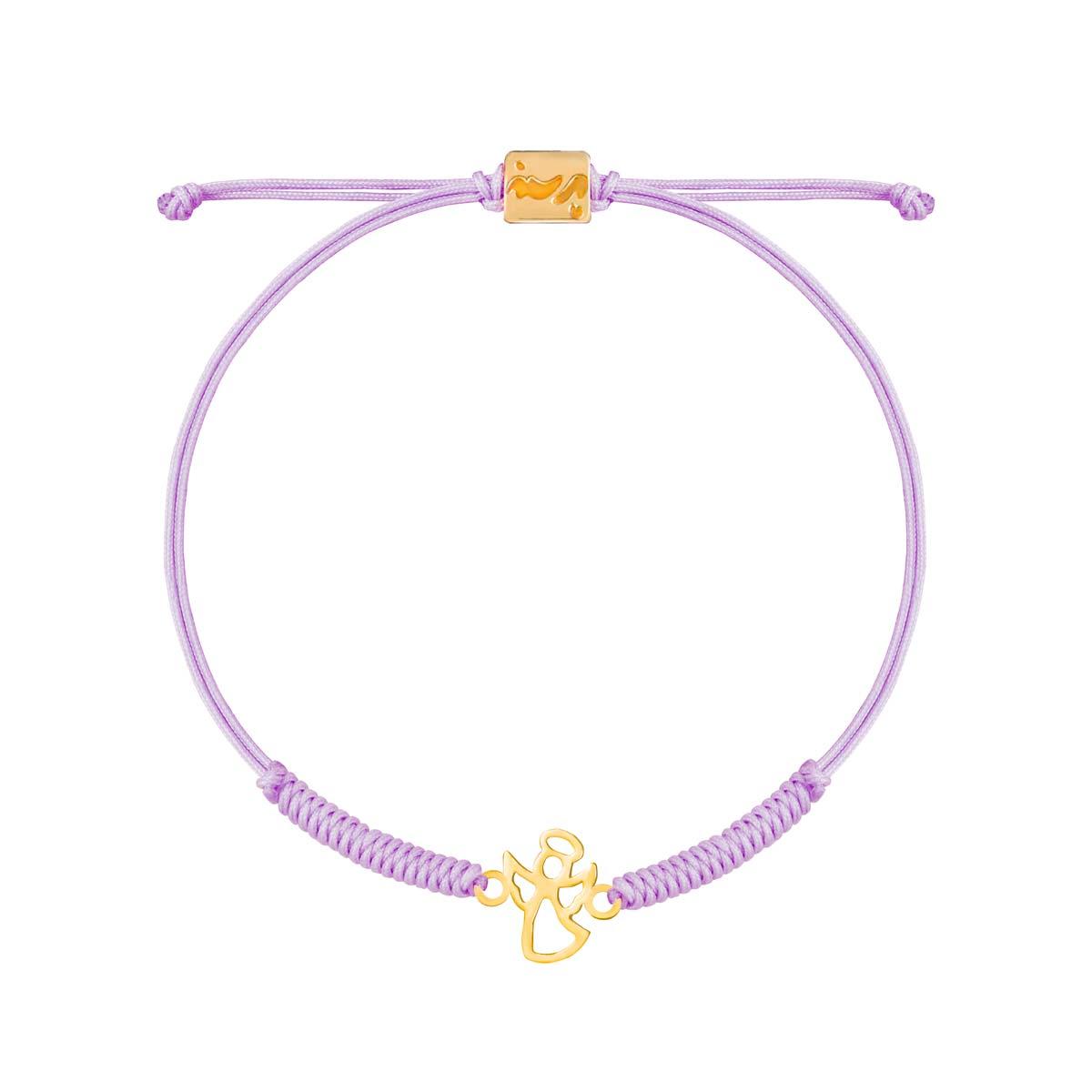 دستبند طلا بافت فرشته |parasteh