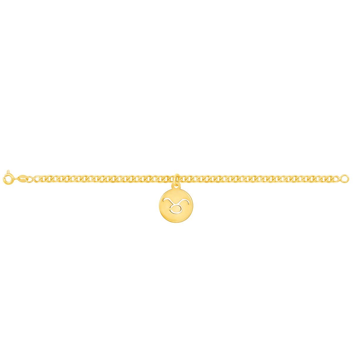 دستبند طلا نماد ماه اردیبهشت پرسته