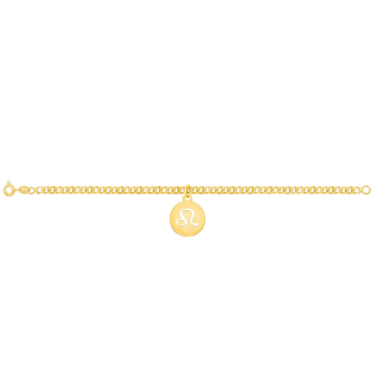 دستبند طلا نماد ماه مرداد پرسته