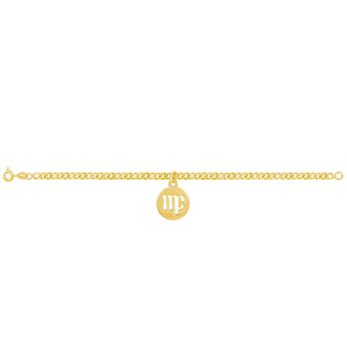دستبند طلا نماد ماه شهریور پرسته