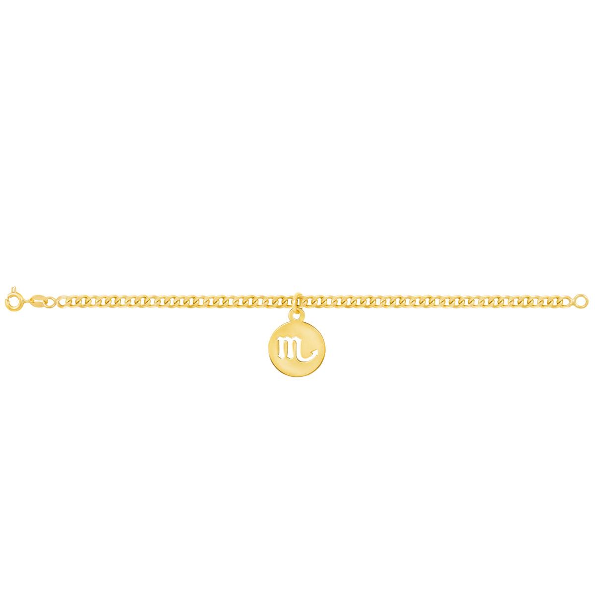 دستبند طلا نماد ماه آبان|parasteh