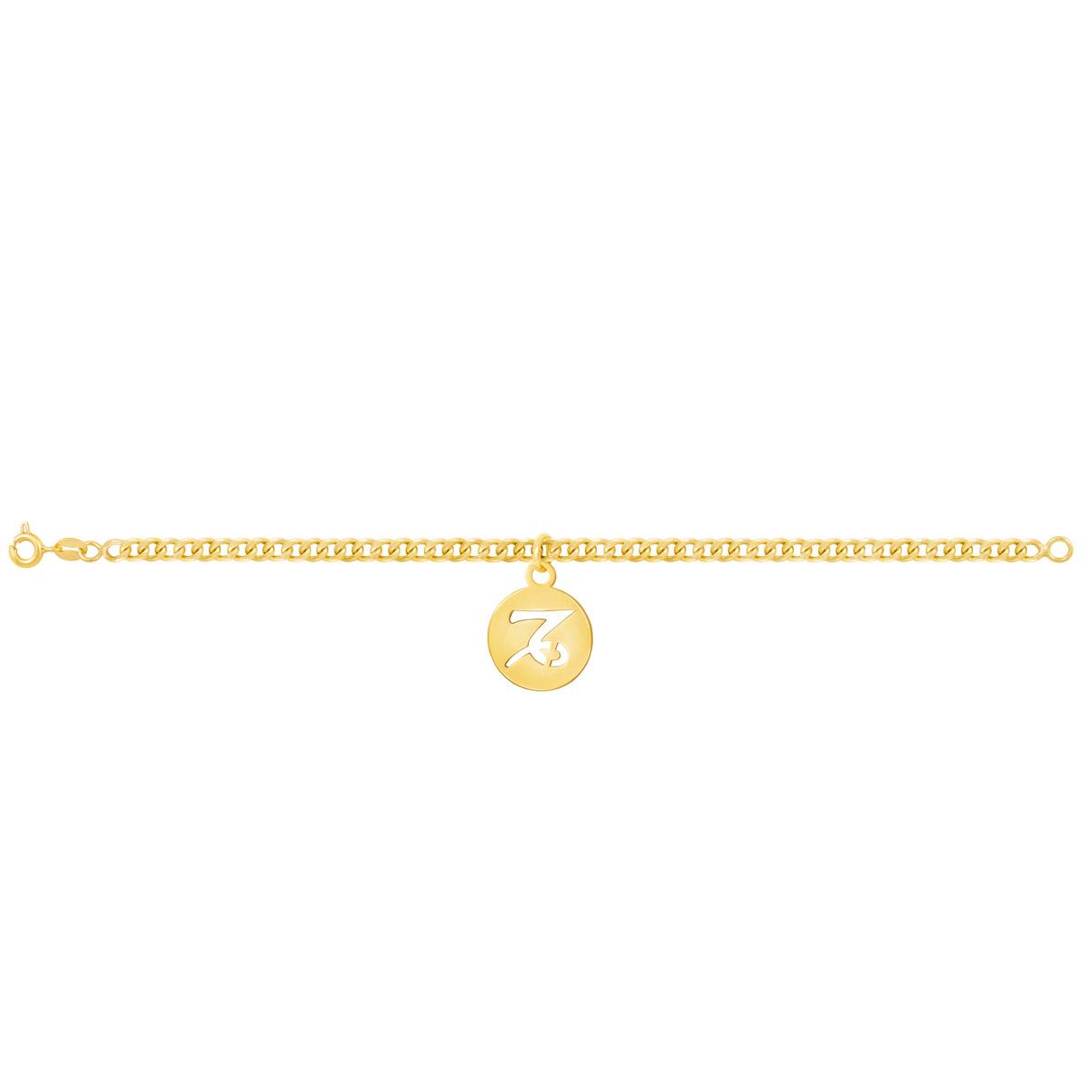 دستبند طلا نماد ماه دی |parasteh