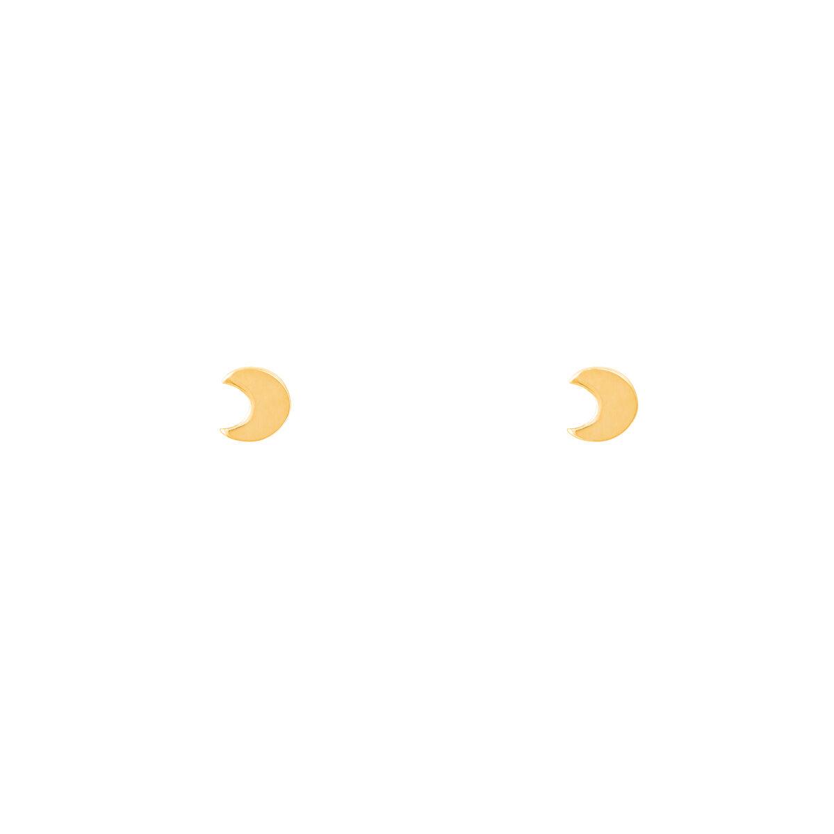 گوشواره طلا ماه کوچک |parasteh