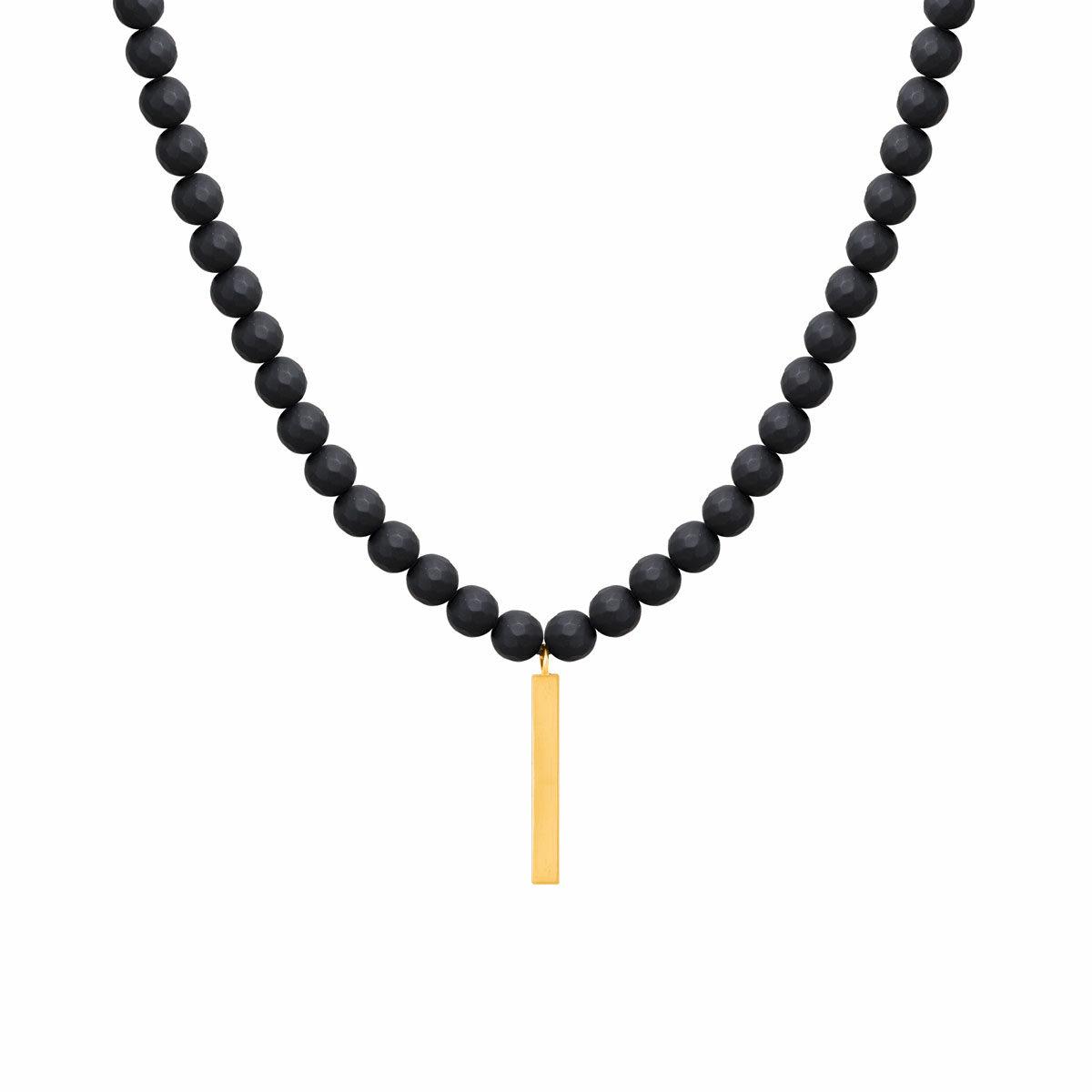 گردنبند طلا پلیت | parasteh