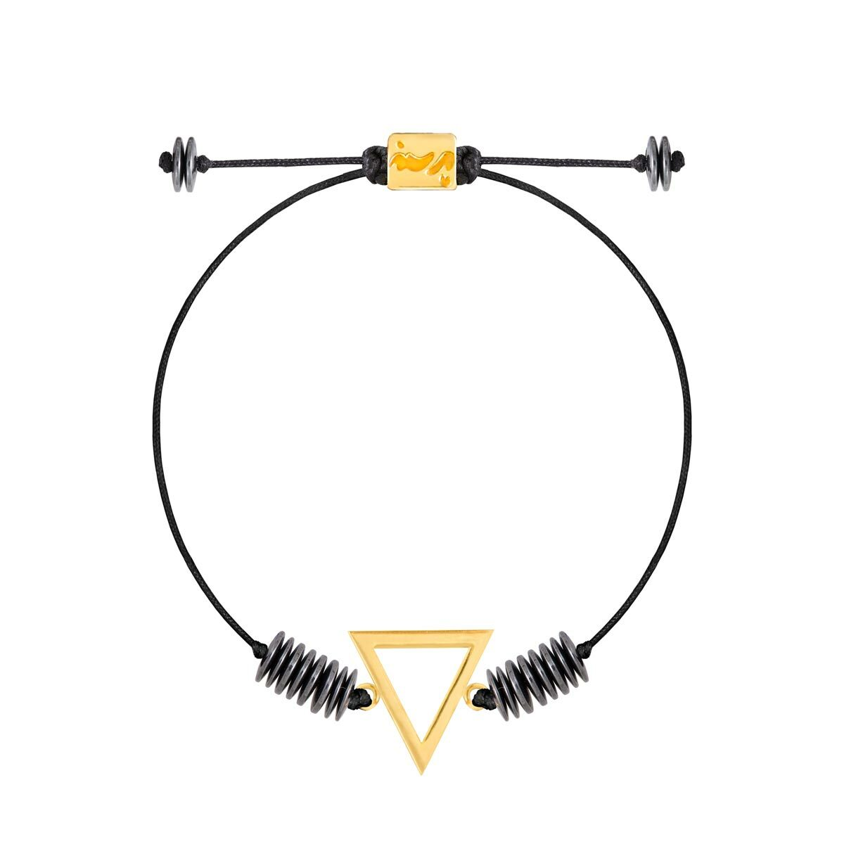 دستبند طلا عنصر آب کوچک |parasteh