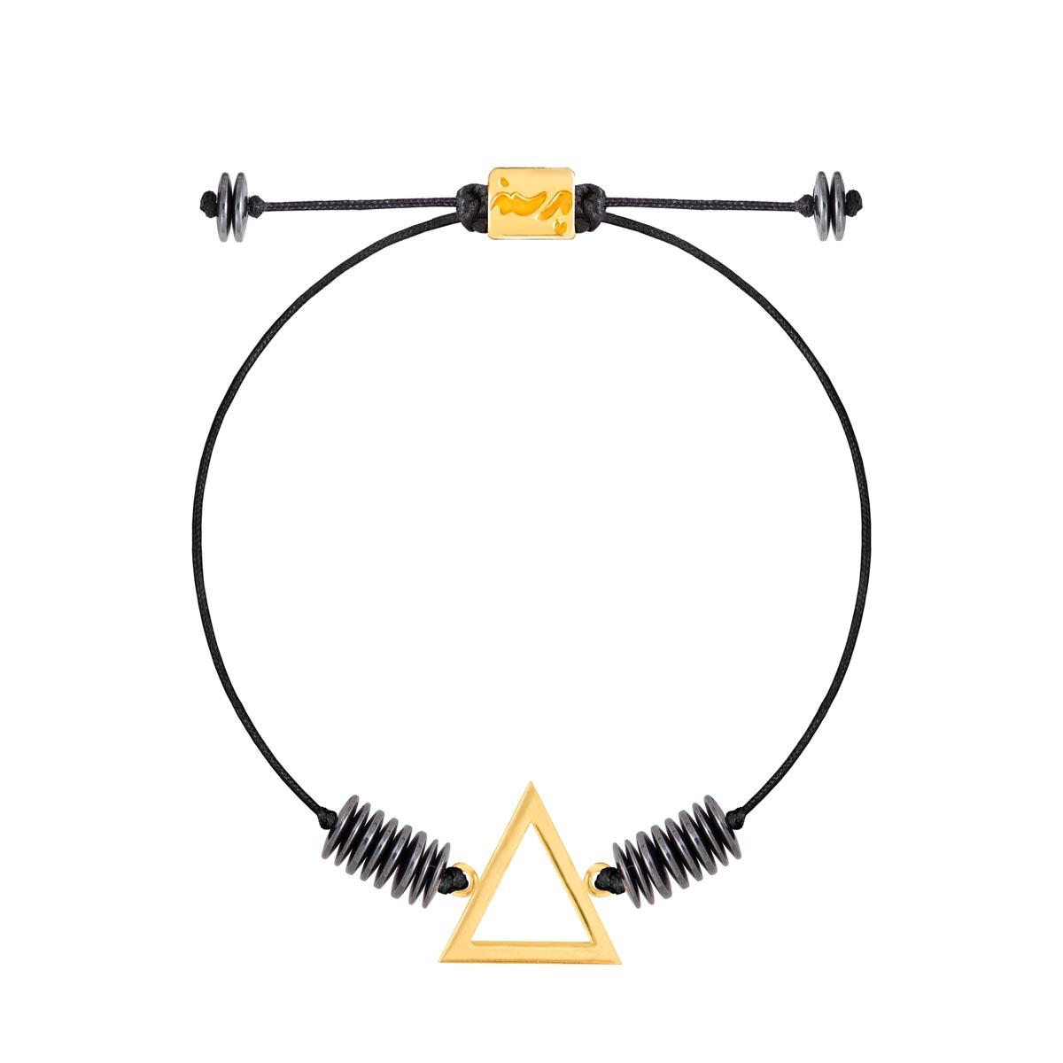 دستبند طلا عنصر آتش کوچک |parasteh