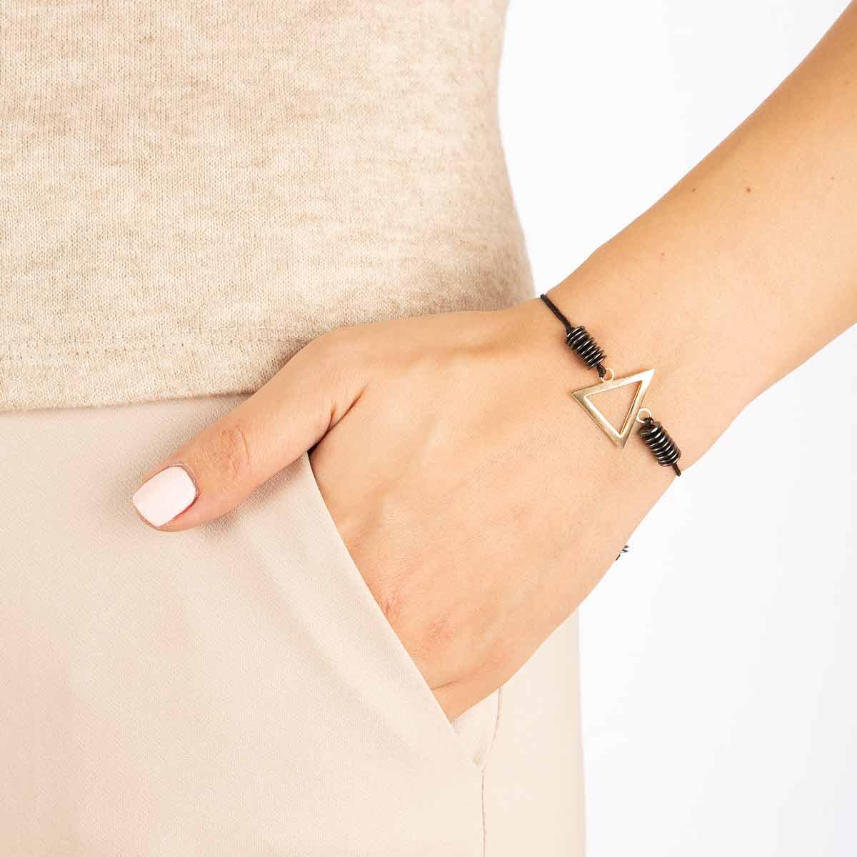 دستبند طلا عنصر آتش کوچک پرسته