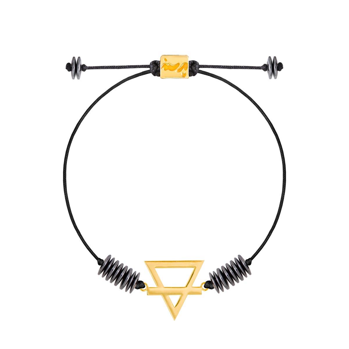 دستبند طلا عنصر خاک کوچک