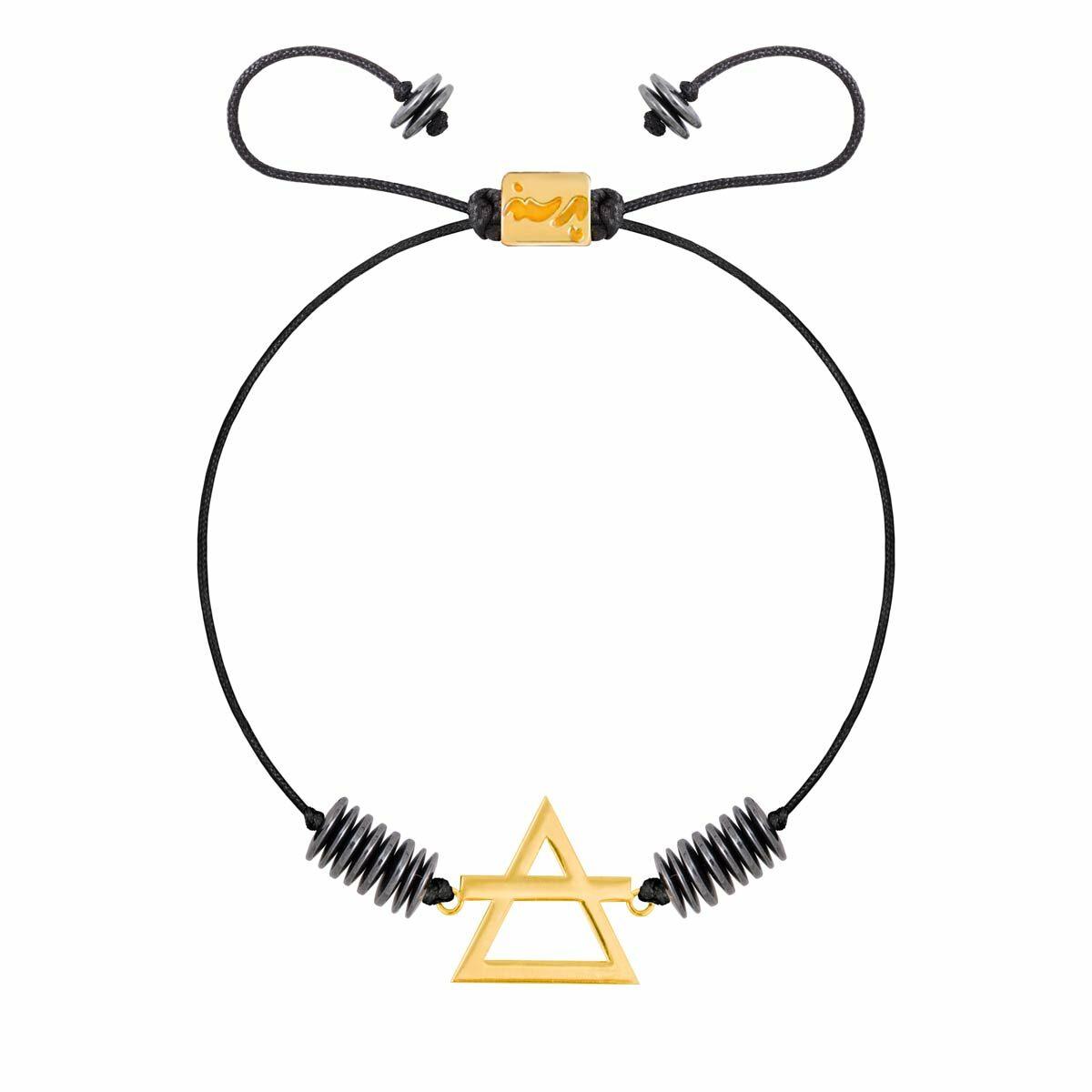 دستبند طلا عنصر باد کوچک |parasteh
