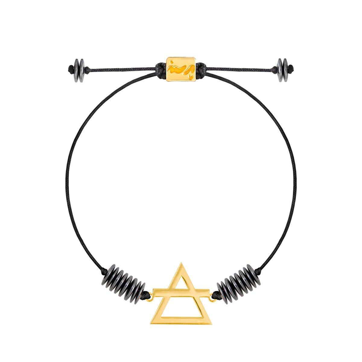 دستبند طلا عنصر باد کوچک