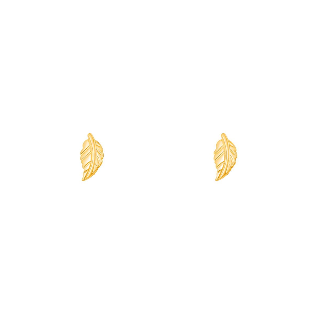 گوشواره طلا برگ |parasteh