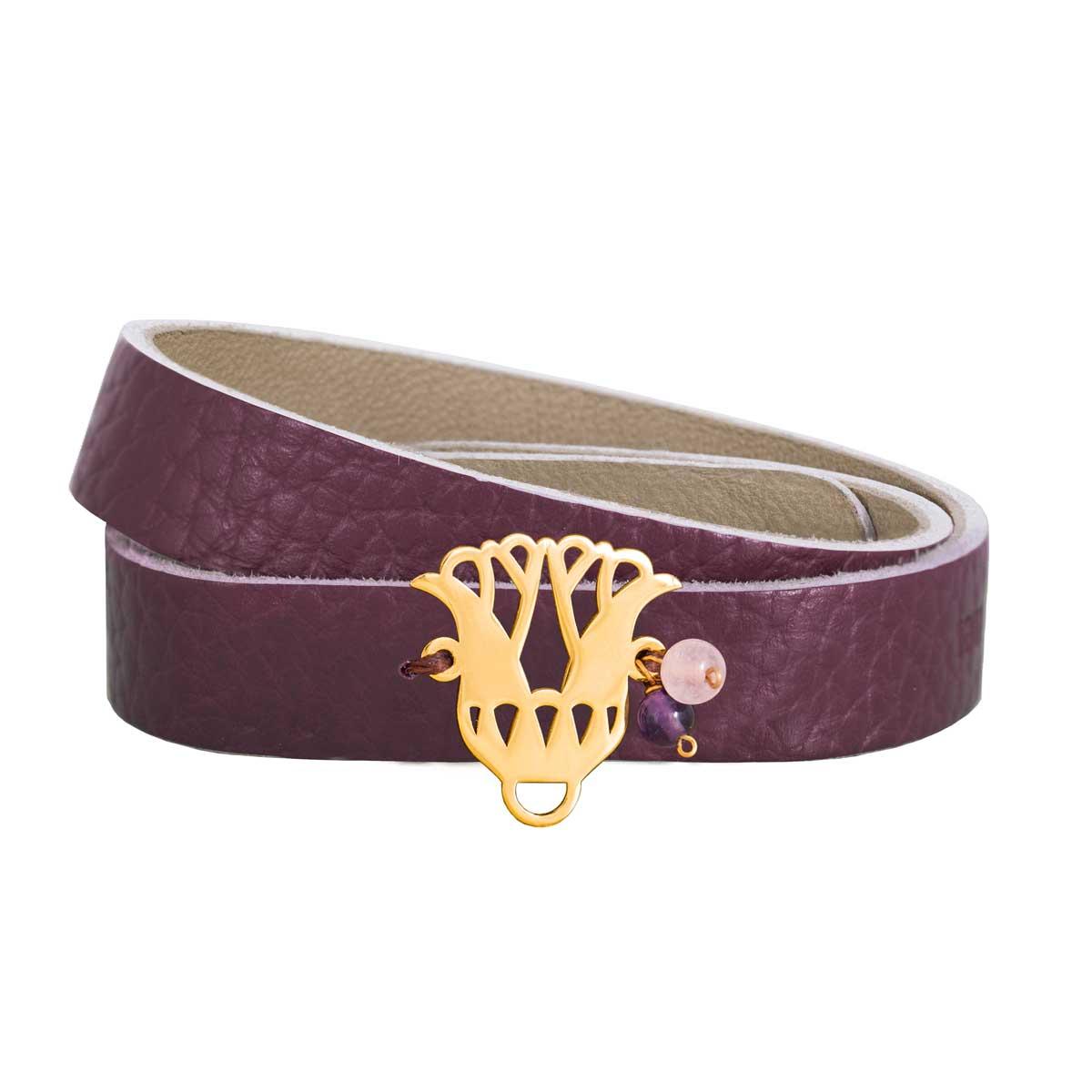 دستبند طلا گلنار پارسی|parasteh