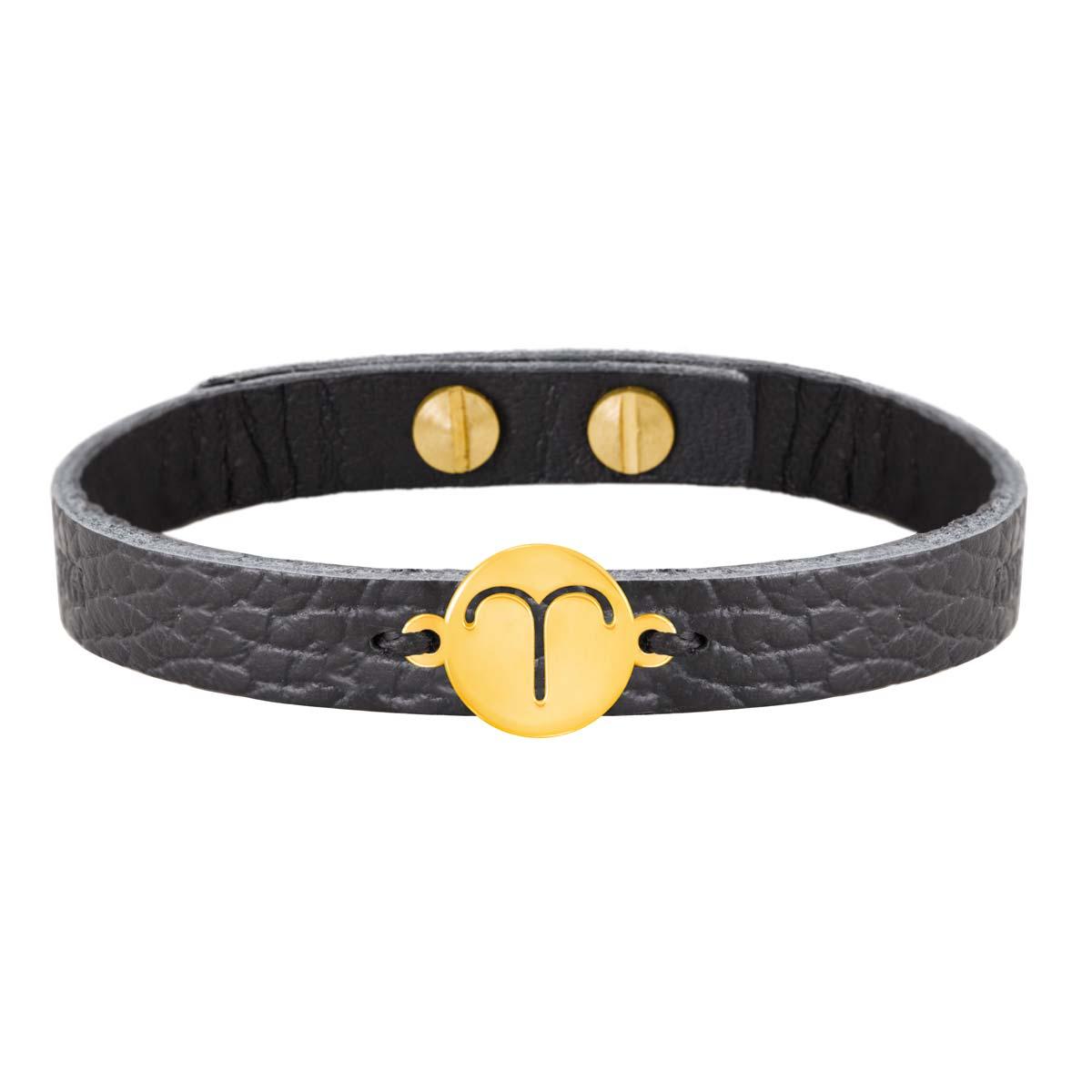 دستبند طلا نماد ماه فروردین |parasteh
