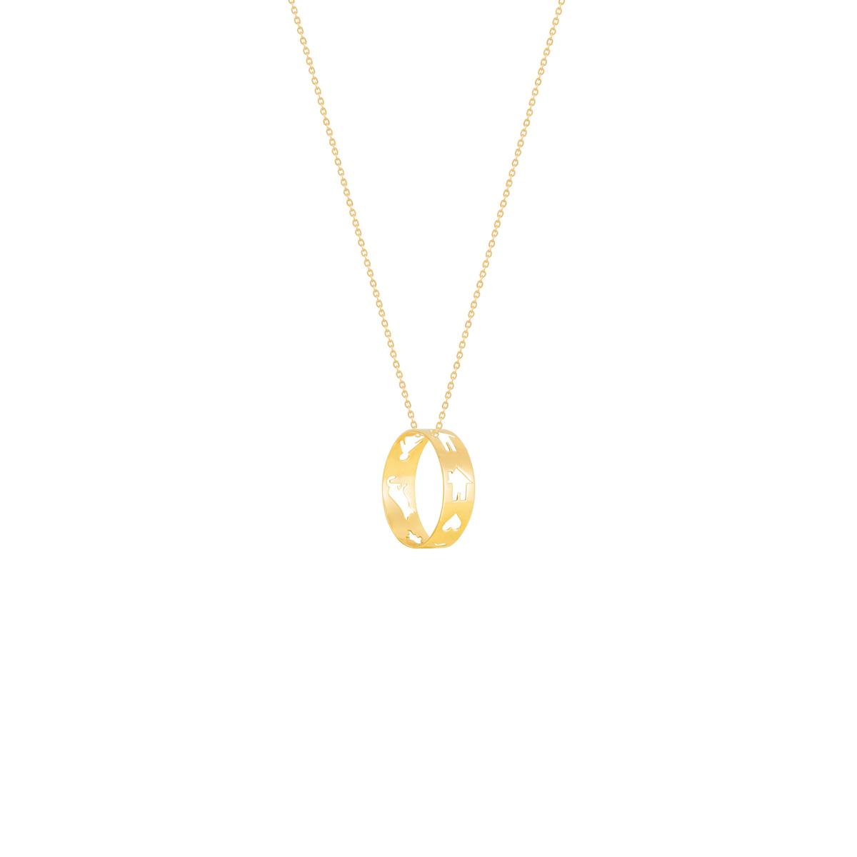 گردنبند طلا خانه پرسته |parasteh