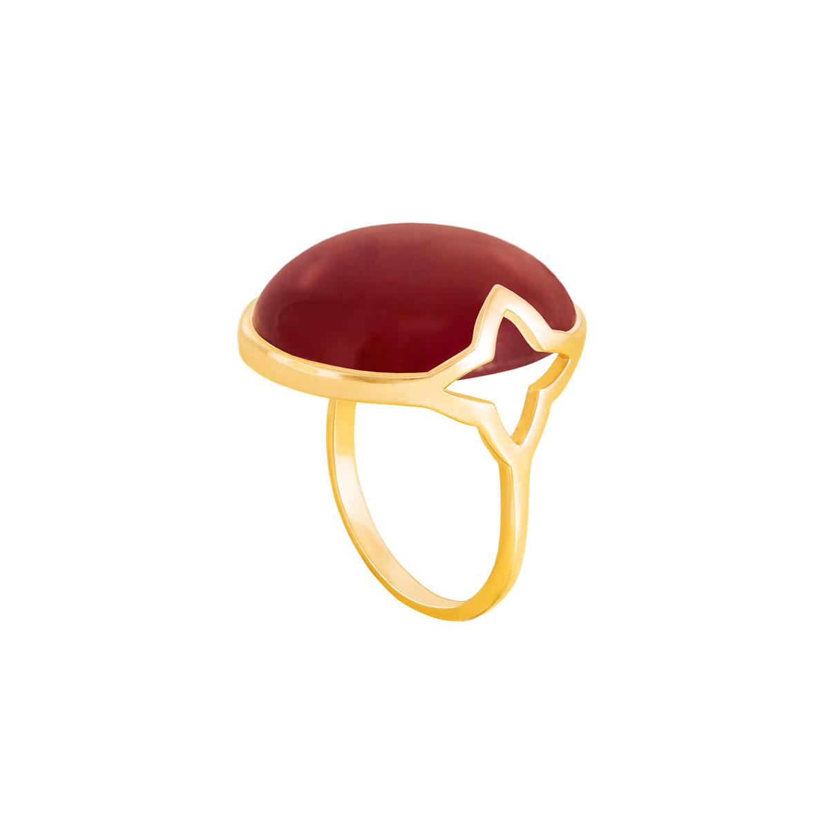 انگشتر طلا عقیق |parasteh