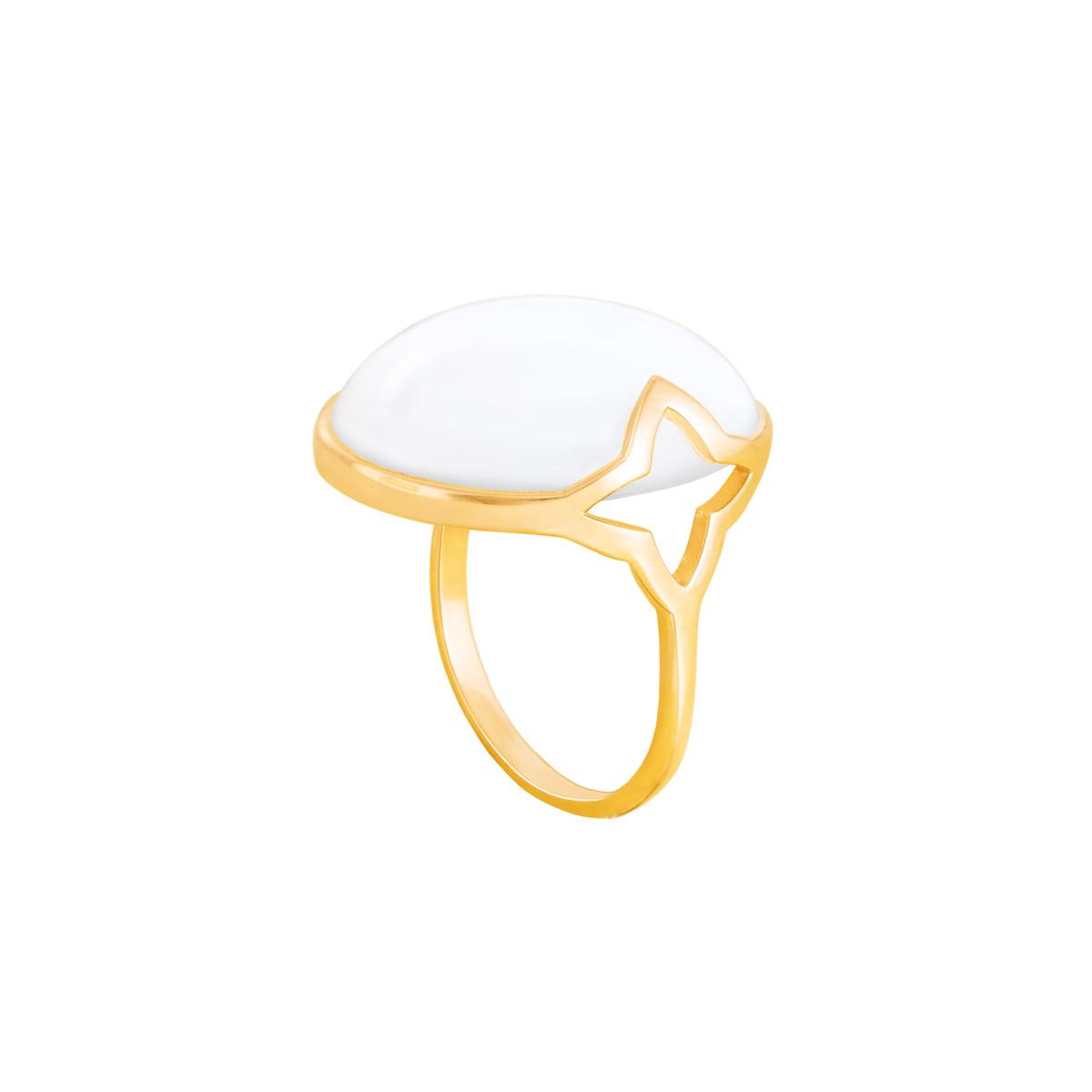 انگشتر طلا صدف|parasteh