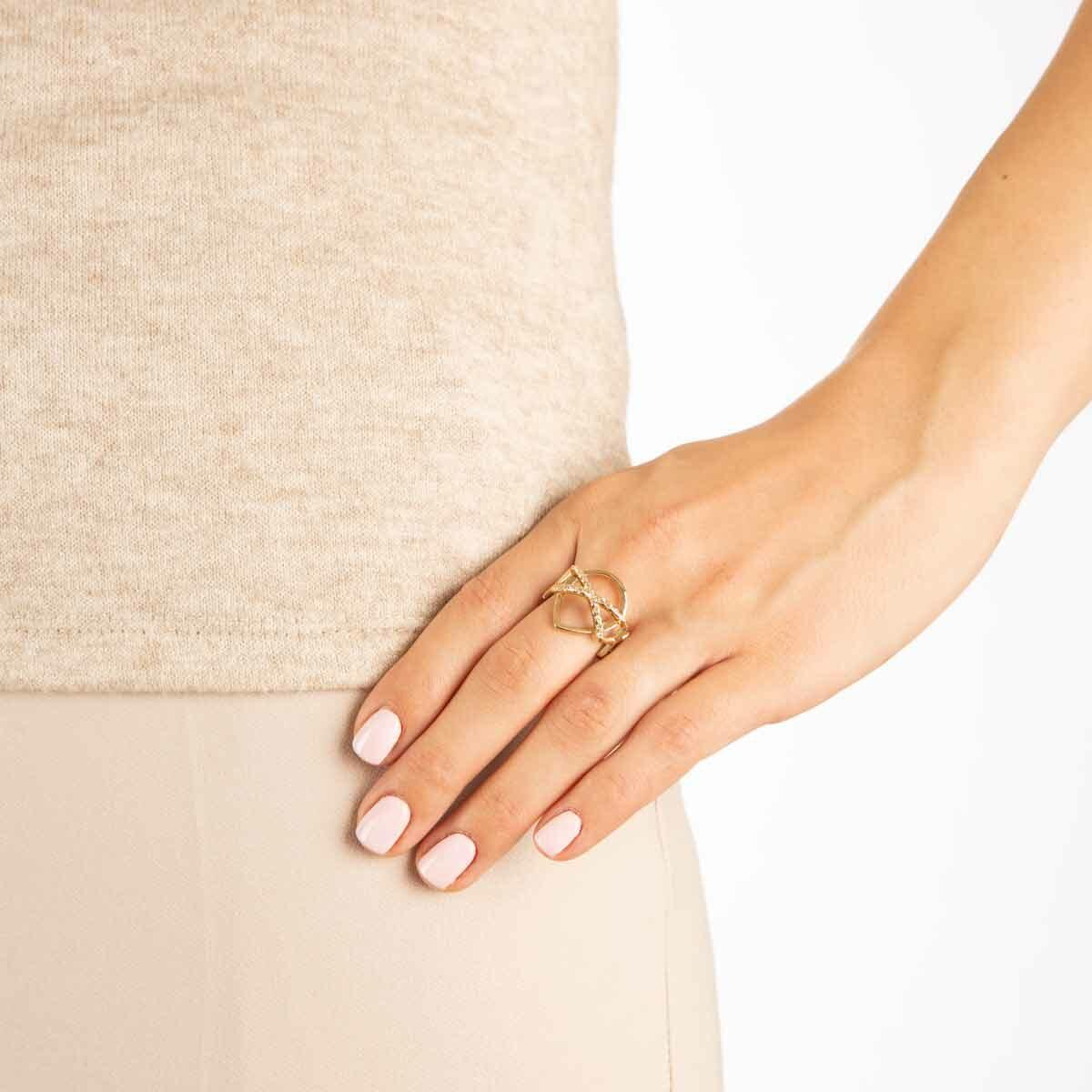 انگشتر طلا الیکا پرسته