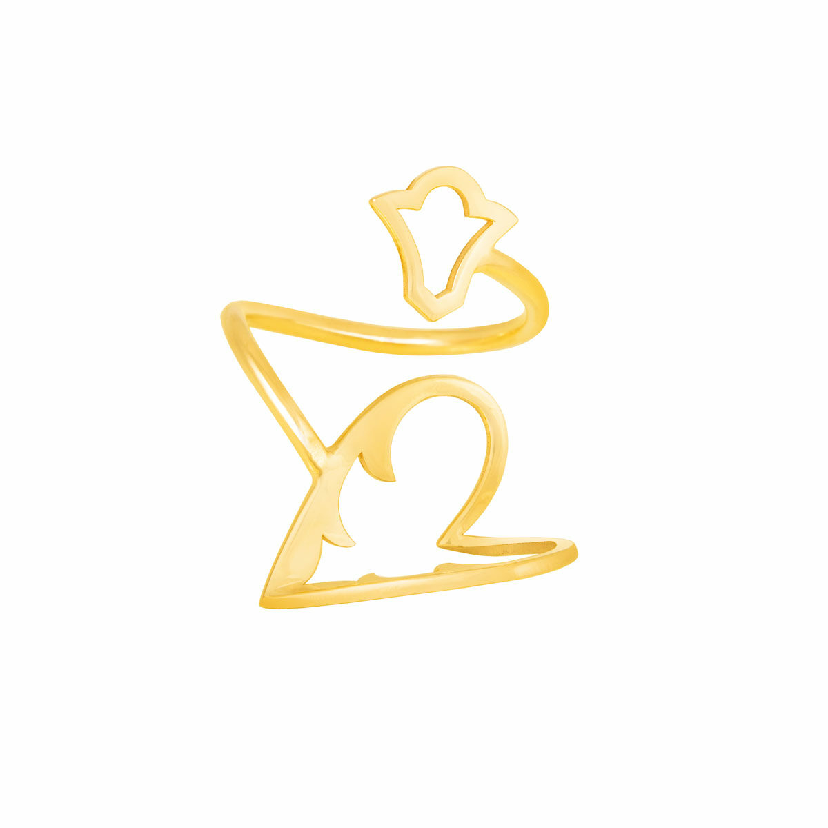 انگشتر طلا آشیما پرسته