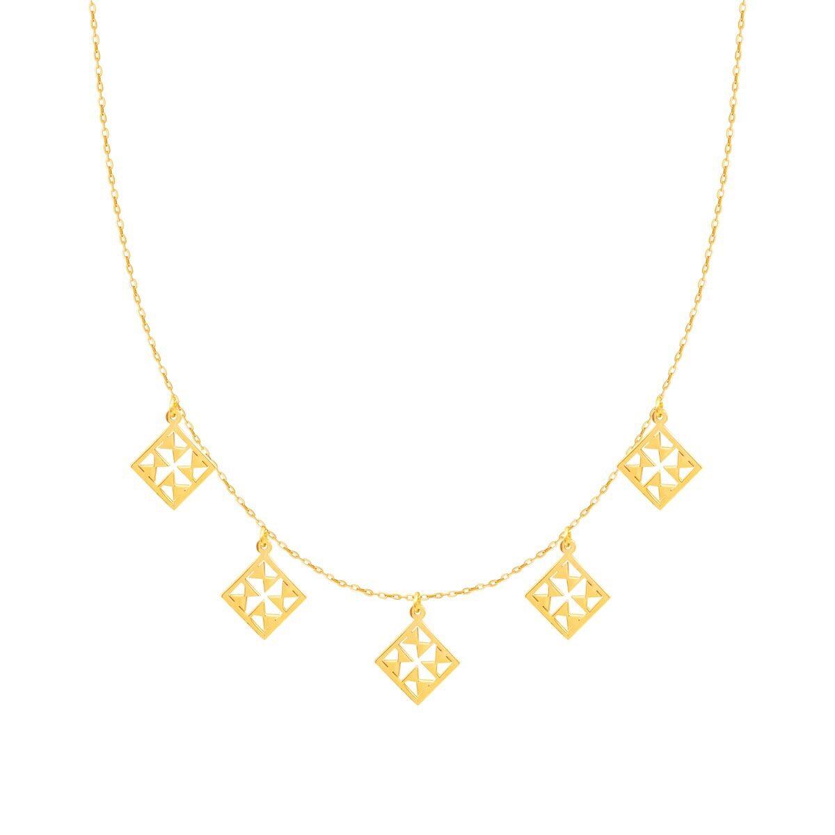 گردنبند طلا نورا پرسته |parasteh