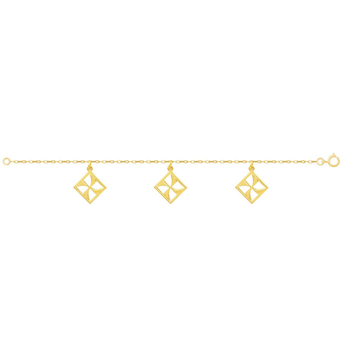پابند طلا مهر پرسته