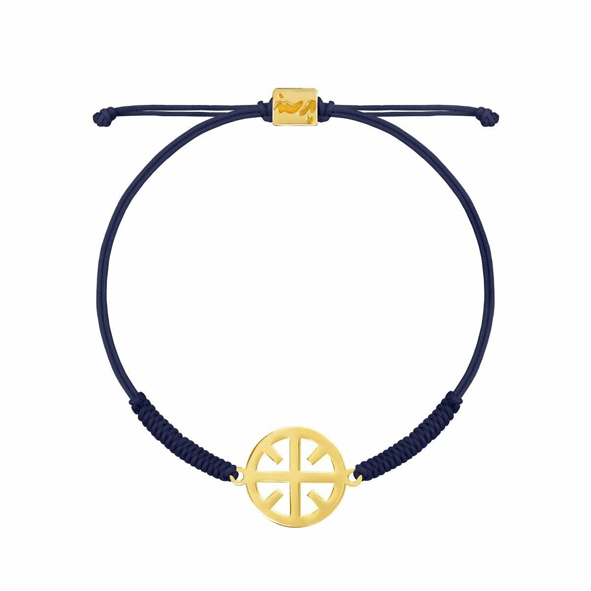 دستبند بافت طلا نور پرسته